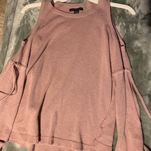 Cut out shoulder American eagle sweater